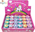 24 Pcs Unicorn Stampers for Kids
