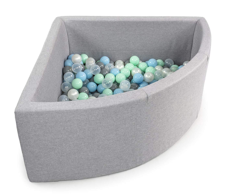 Fabriqu/é en EU BCKZ6 Tweepsy B/éb/é Piscine A Balles pour Enfants Bambin 250 Balles 90x40cm