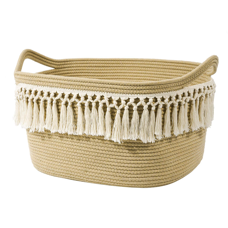 Handled Basket Decorative Mint Green Glitter Basket Baby Shower Gift Laptop Case Handmade Quilted Basket Beach Tote Bag