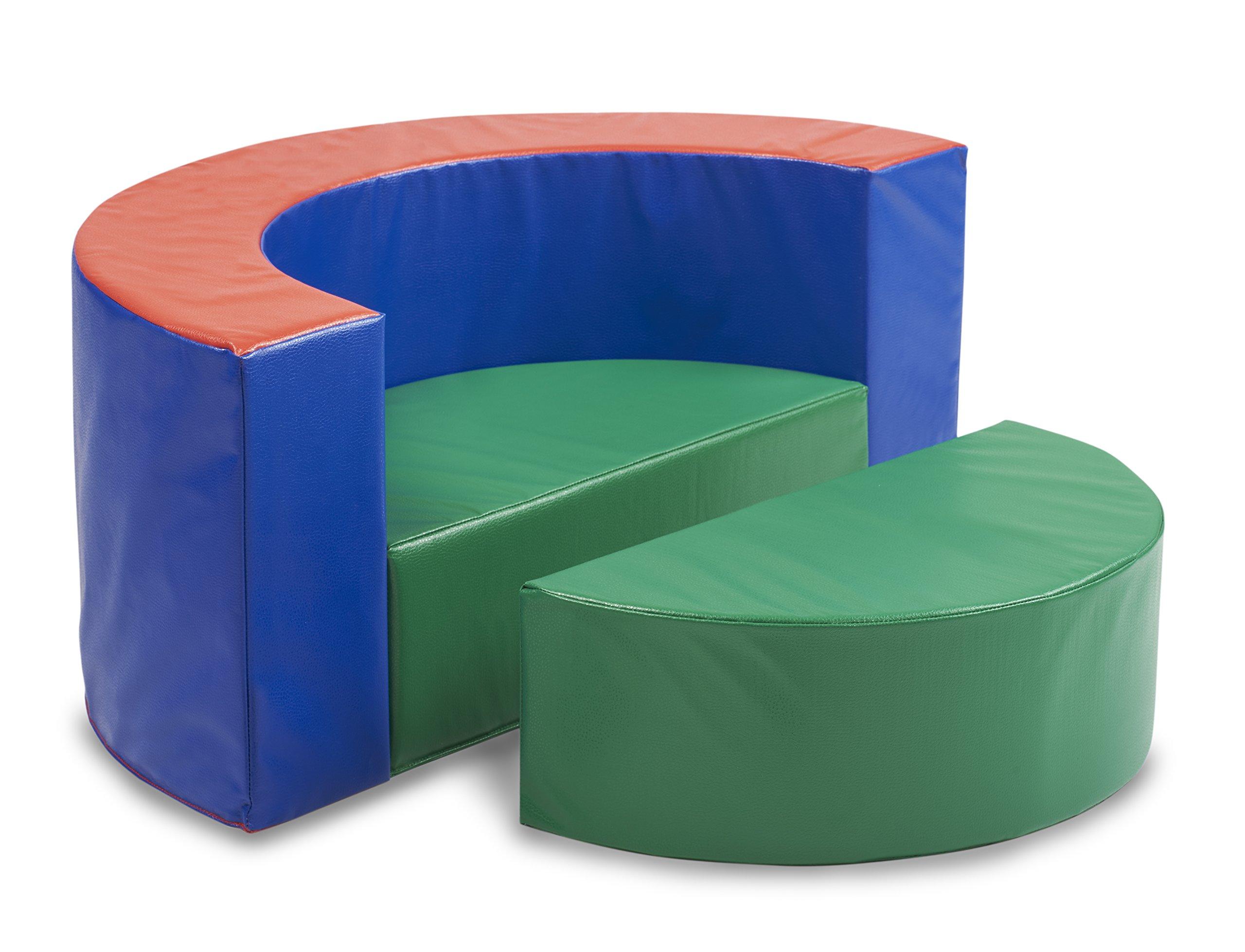 ECR4Kids SoftZone Cuddle Corral, Multi-Color