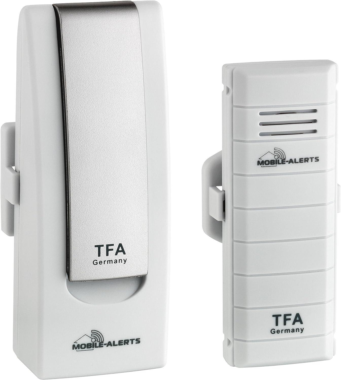 TFA-Dostmann SmartHome 31.4001.02 Moniteur de température pour Centre météo sur Smartphones