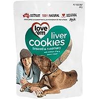 love'em Cookies Linseed & Rosemary 450g, 1 Pack