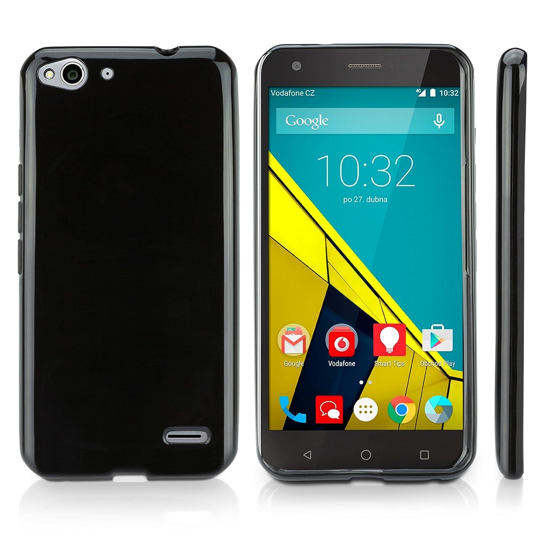 Amazon.com: Vodafone Smart 4 turbo Case, BoxWave® [Blackout Case] Durable, Slim Fit, Black TPU Cover for Vodafone Smart 4 turbo: Cell Phones & Accessories