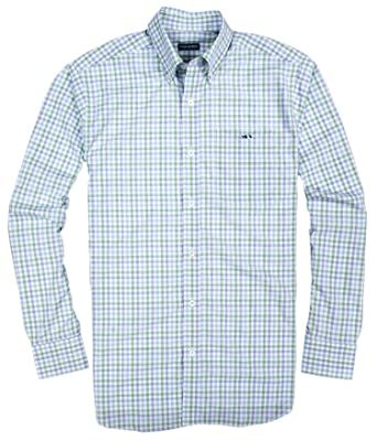 5240b0587f6 Fish Hippie Crawford Tattersall Crystal Blue XX-Large at Amazon Men s  Clothing store