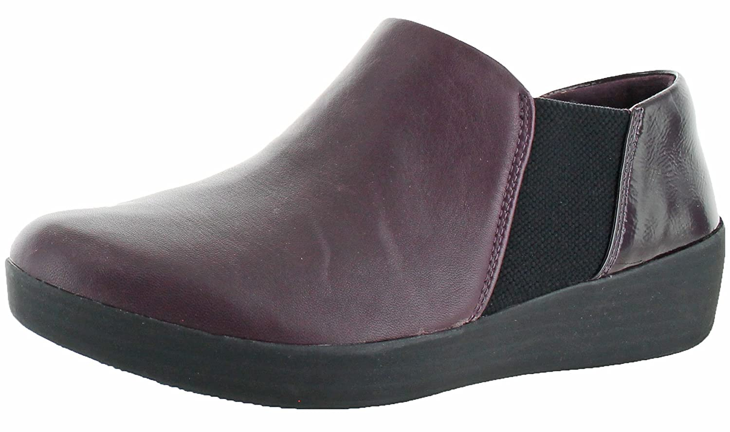 4deed5913c FitFlop Superchelsea Women s Leather Slip-on Casual Shoes ...