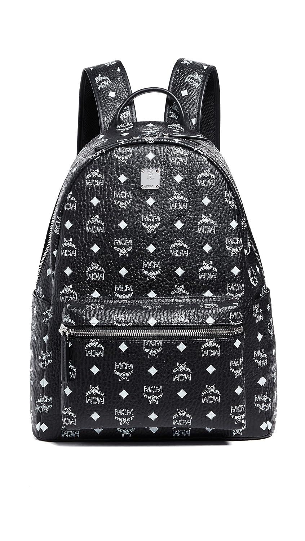 5c020d7e1d1 Amazon.com   MCM Men's Stark Medium Backpack, Black/White, One Size    Casual Daypacks
