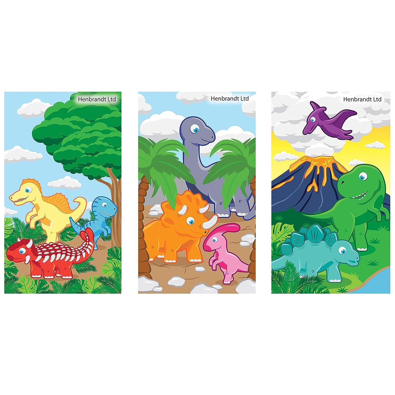 Party bag fillers Dinosaur Mini Spiral Notebooks 3 Designs
