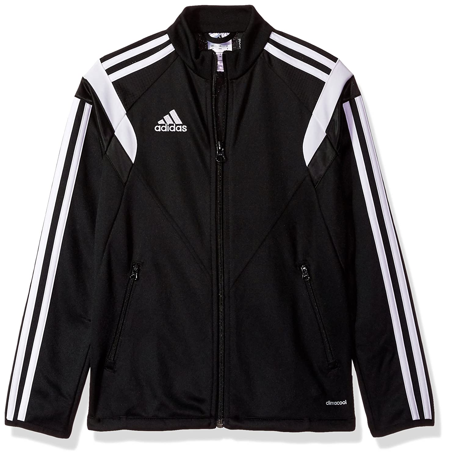Adidas Condivo 14 Youth Training Jacket YXS Black-White 00_BTVXLBYD_AD