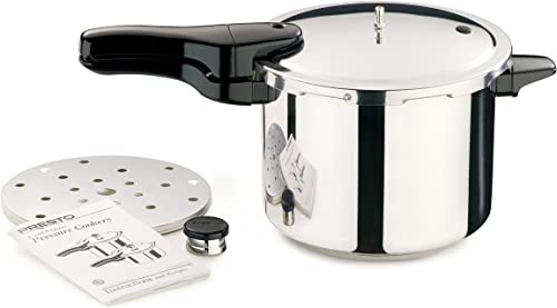 The presto 6 quart stainless steel pressure cooker reviews: a must-have pressure cooker for all families
