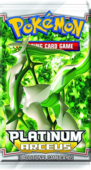 Pokemon Platinum Arceus (PL4) Booster Pack [Toy]: Amazon.es ...