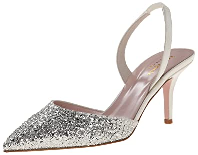 95b9f1663 kate spade new york Women's Jeanette D'Orsay Pump, Silver/Grey, 8 M US: Buy  Online at Low Prices in India - Amazon.in