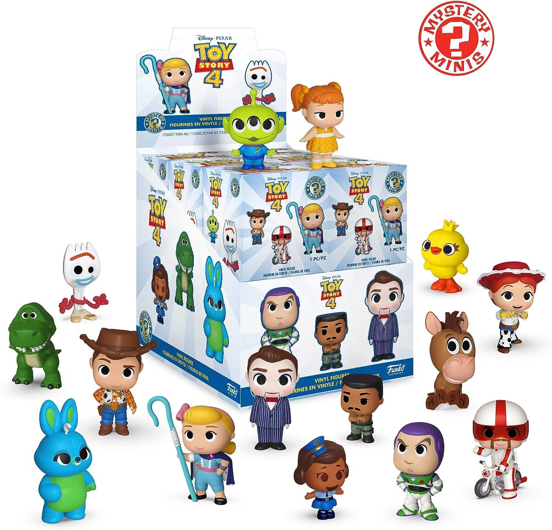 Case NOUVEAU Mignon Disney Toy Story 4 Funko Mystery Mini Vinyl Figure Little Bo Peep