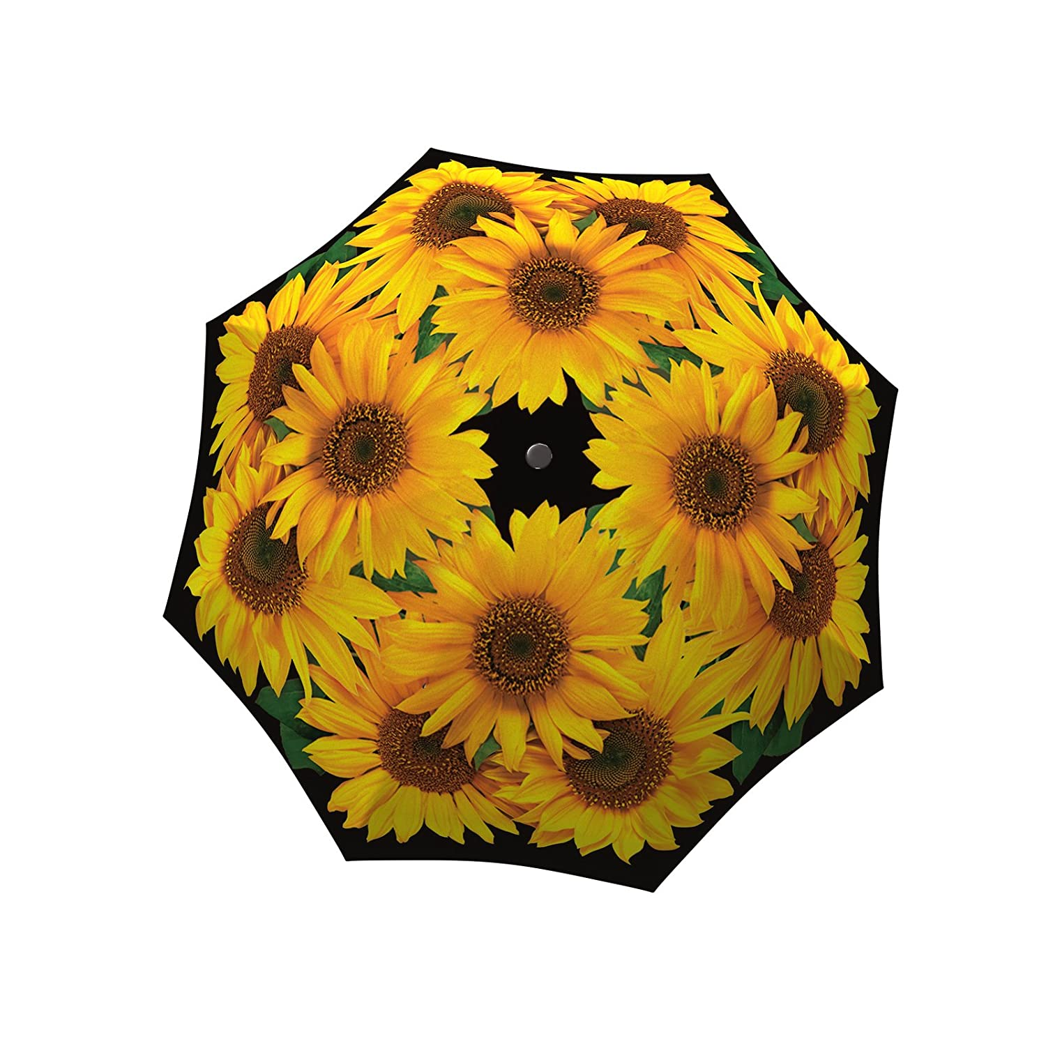 b24360e326f4 LA BELLA UMBRELLA Sunflower Designer Large Canopy Unique Colourful Art  Fashion Umbrella – Windproof Stick Straight