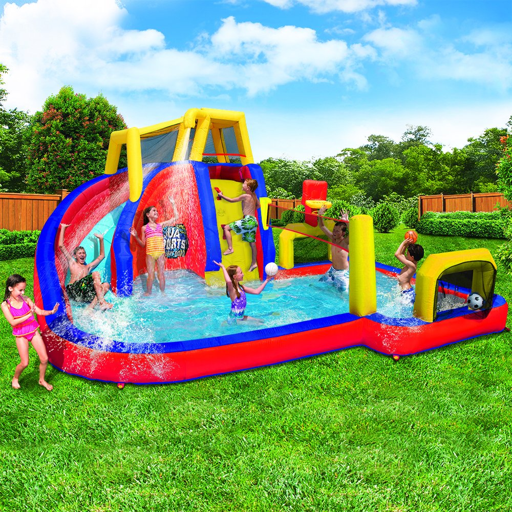 inflatable pools for kids with slides interior design