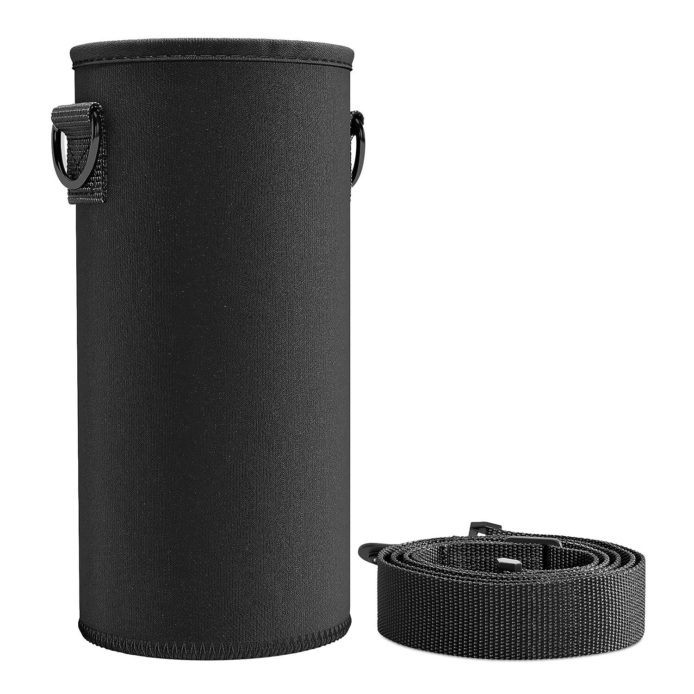 sin PVC ni Plomo con Correa Ajustable y extra/íble Herm/ética BeMaxx Funda Aislante de Neopreno para Active Flask