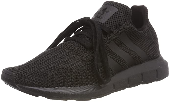 new product c378c 8e9dd Amazon.com  adidas Mens Originals Swift Run AQ0863 BlackBlackWhite   Shoes
