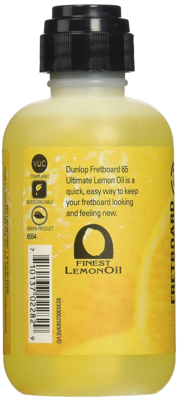 Jim Dunlop 6554 Dunlop Ultimate Lemon Oil, 4 oz