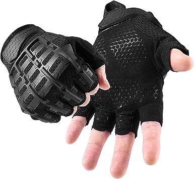 WTACTFUL Guantes de dedos completos para motocicleta, ciclismo, motocicleta, ATV, conducción, escalada, camping, senderismo