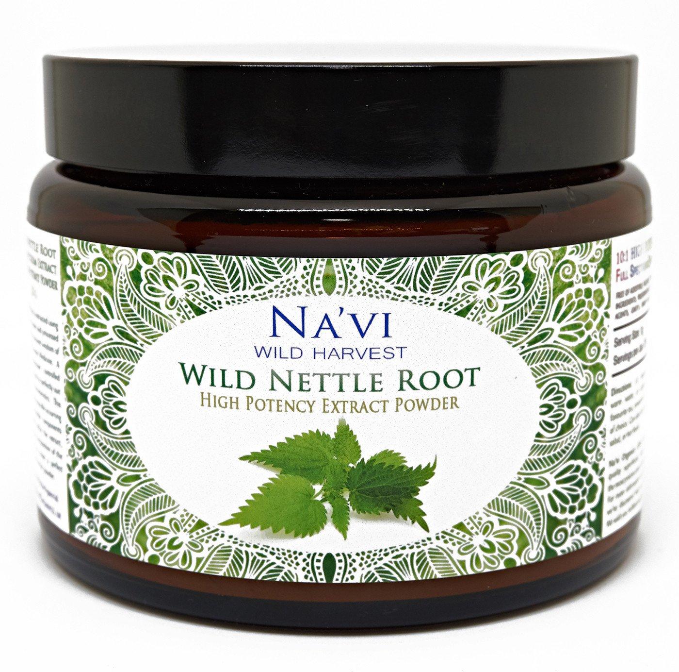 Full Spectrum Nettle Root Extract Powder - Wild Harvested (250g)