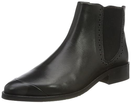 Womens Prime Brogue Blk Chelsea Boots Royal Republiq 2fYvx