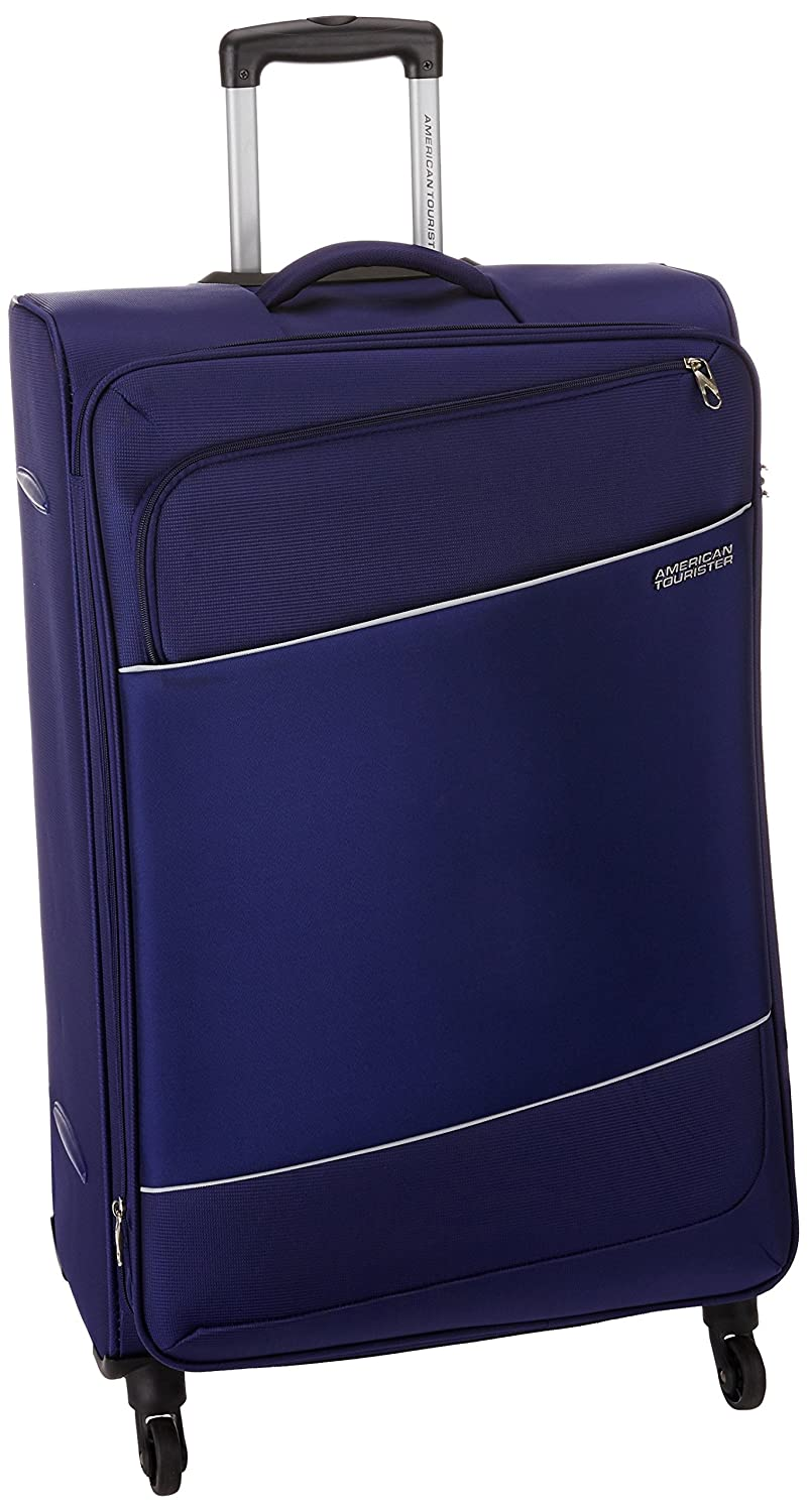 American Tourister Timor Polyester 78 cms Blue Softsided