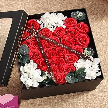 Weihnachten Geschenke Valentinstag Geschenk Seife Blume Blume