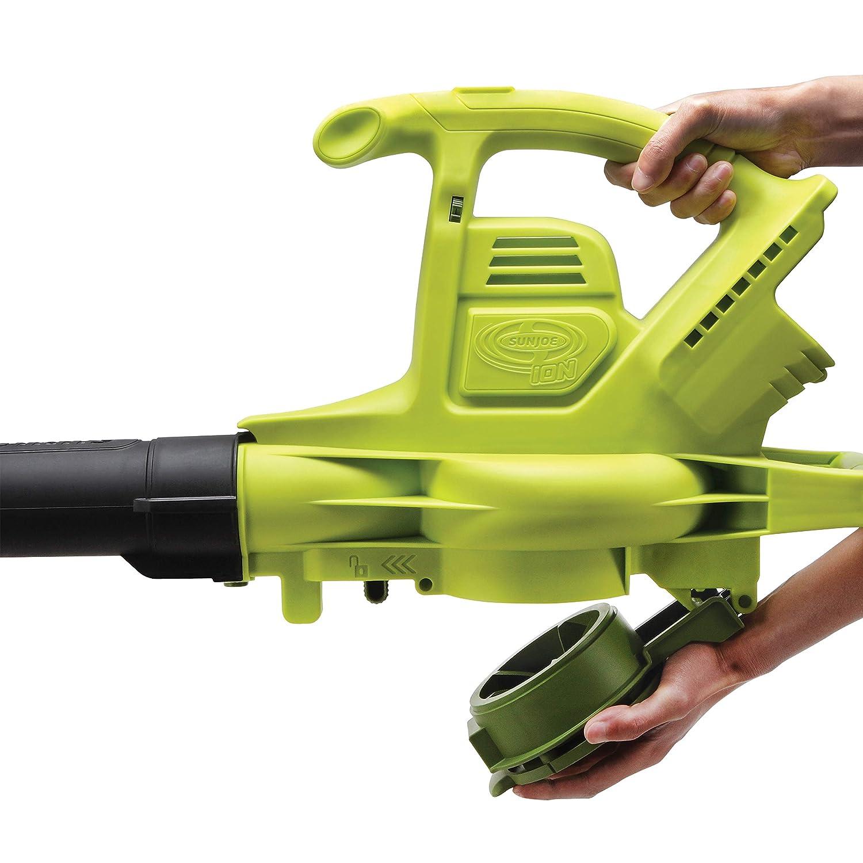 Amazon.com: Soplador, aspirador y trituradora sin cable con ...