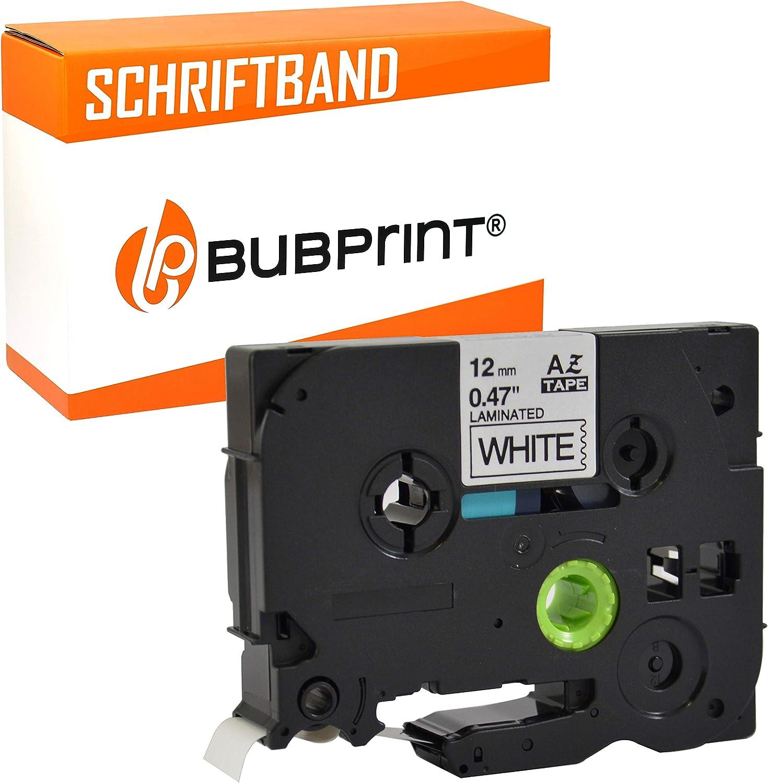 5x Schriftband für Brother P-Touch  P300BT P700 P750W PT-P900 RL700S