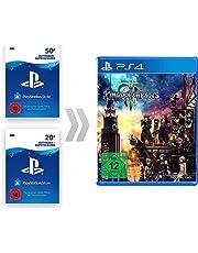 PSN Guthaben-Aufladung für Kingdom Hearts III [PS4 Download Code - deutsches Konto]