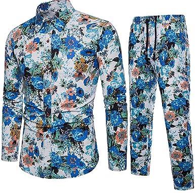 UNINUKOO Unko Mens Business Long Sleeve Slim Fit Dress Shirts Tops