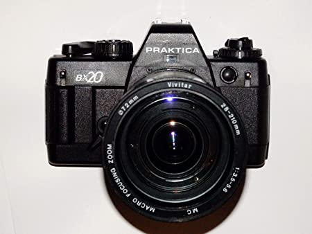 FOTOTECHNIK BY LLL Praktica Bx20 Incluye Objetivo Vivitar 28 – 210 ...