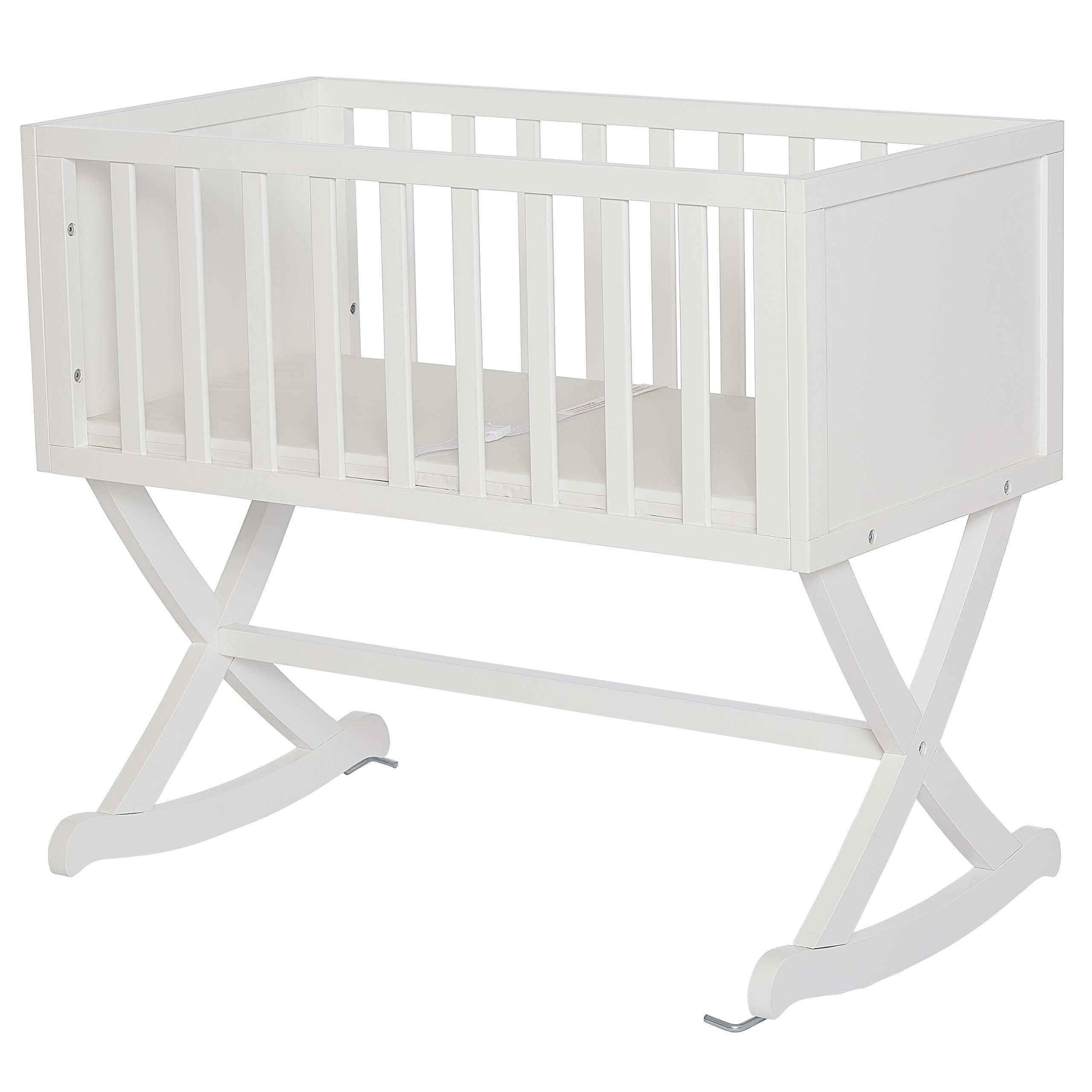 Dream On Me Haven Cradle, White by Dream On Me