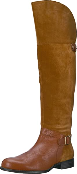 7482d6fbd0a Naturalizer Women s January Riding Boot Camel 4 M US