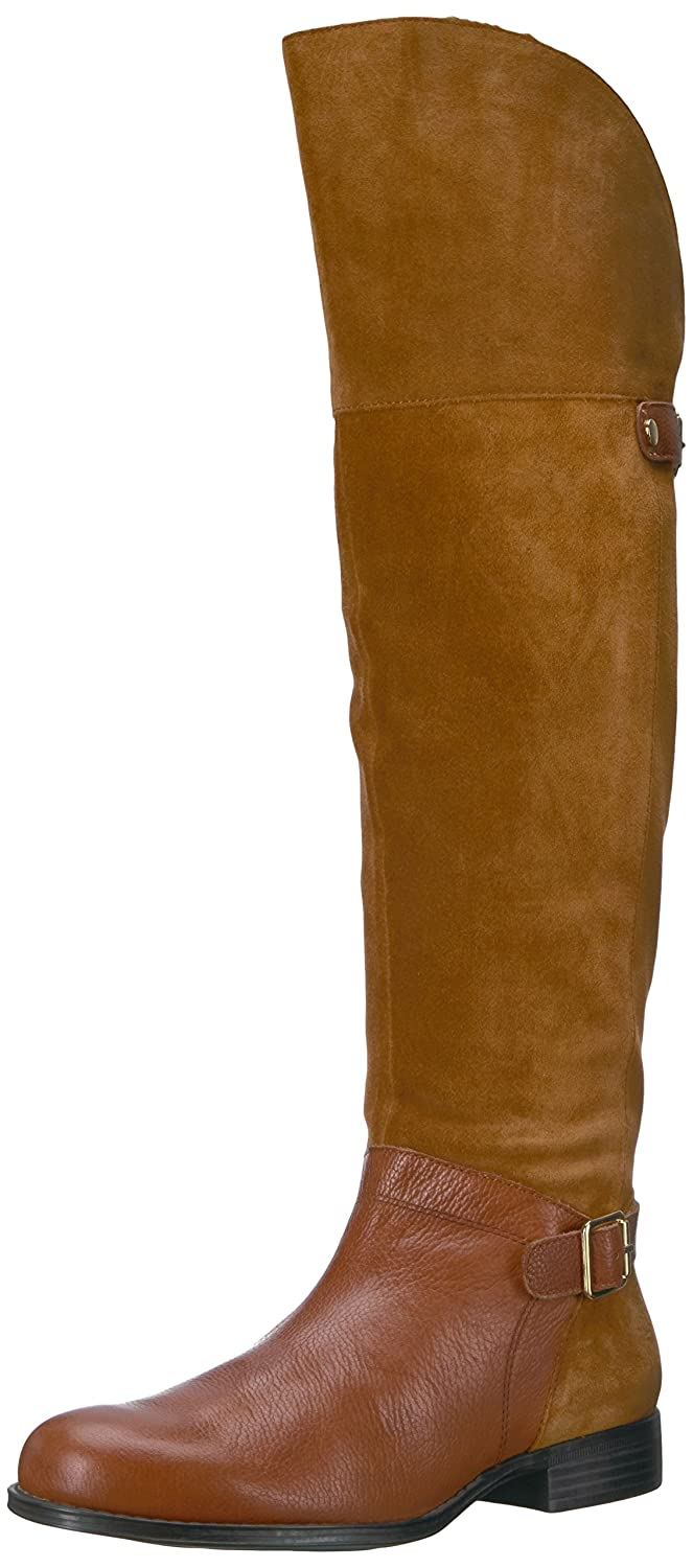 Naturalizer Women's January Riding Boot B06XC2DTZN 11 2W US|Camel