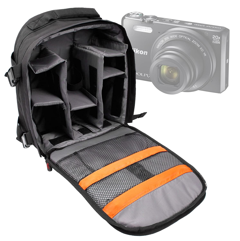 DURAGADGET Mochila para Cámara Reflex Nikon S9900 | Coolpix P900 ...