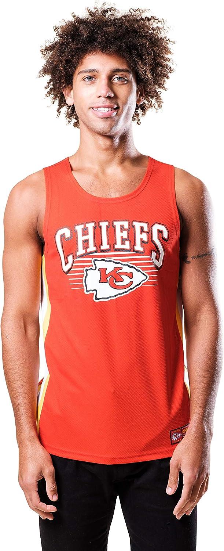 Ultra Game NFL Men's Mesh Tank Top Shirt