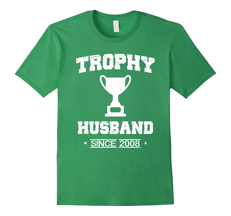 Mens Trophy Husband Since 2008 T-Shirt-PL