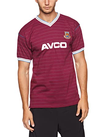 Scotch Guard Score Draw Official Retro West Ham - Camiseta de fútbol para hombre: Amazon.es: Deportes y aire libre