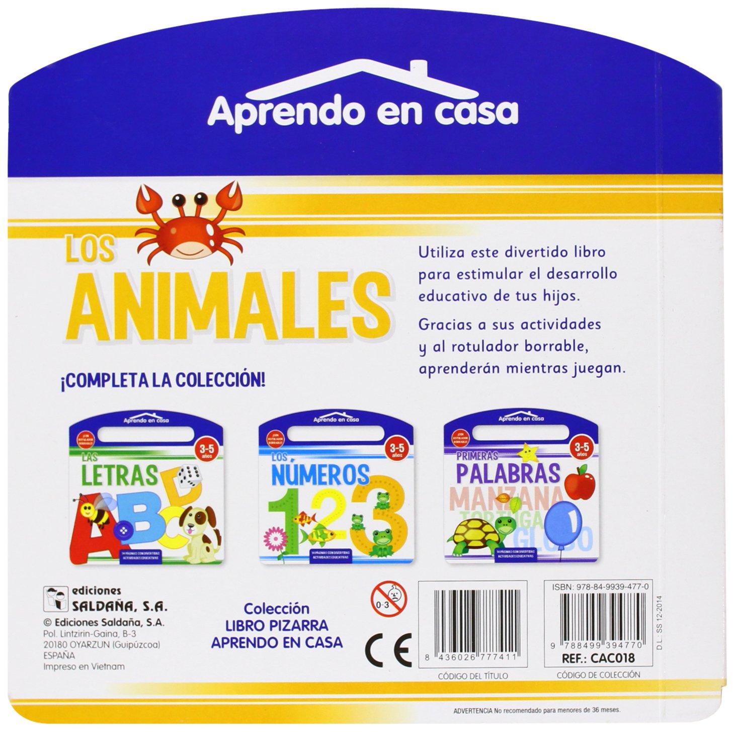 Los animales: CAC018/394770: 9788499394770: Amazon.com: Books