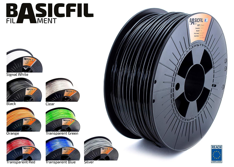 Basicfil PET  2.85mm 1 kg filamento per stampante 3D Arancione