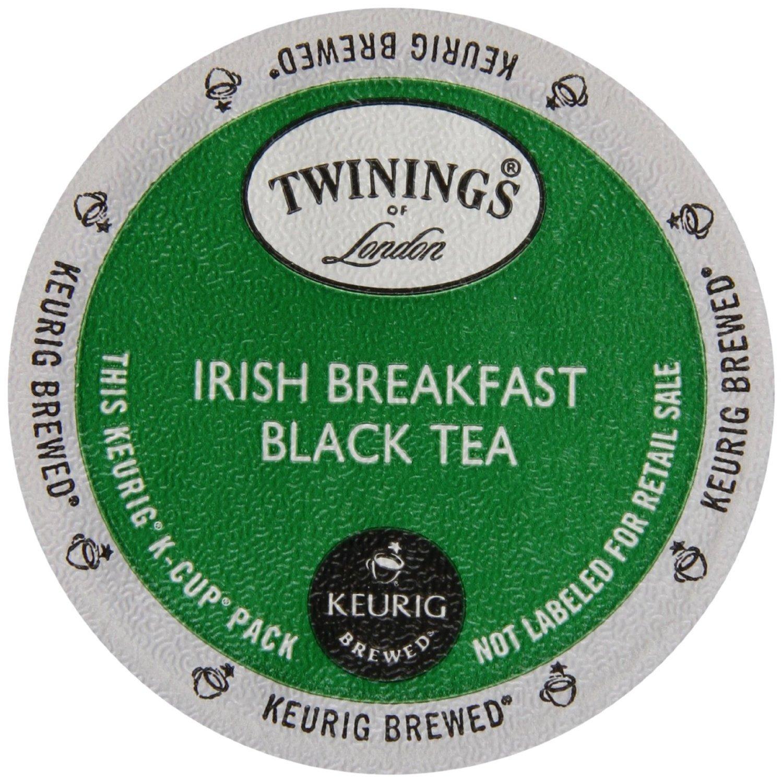 Twinings Irish Breakfast Tea K-Cups, 48 Count by Twinings