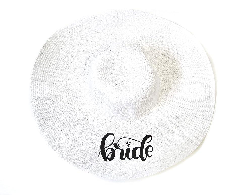 Beach Bride Hat Floppy Sun Hat bride Floppy Beach Hat Bride Hat Cancun Vibes beach hat HIGH QUALITY Custom Personalized Floppy Mrs