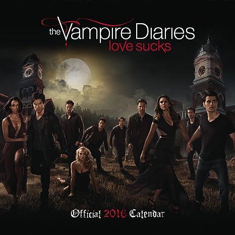 Calendario 2016 Vampire Diaries Love Sucks - Serie TV ...