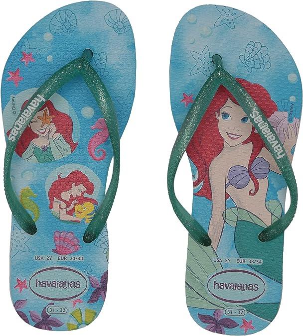2 M US Little Kid Havaianas Kids Max Heroes Sandal Flip Flops Toddler//Little Kid ,Marine Blue,31//32 BR