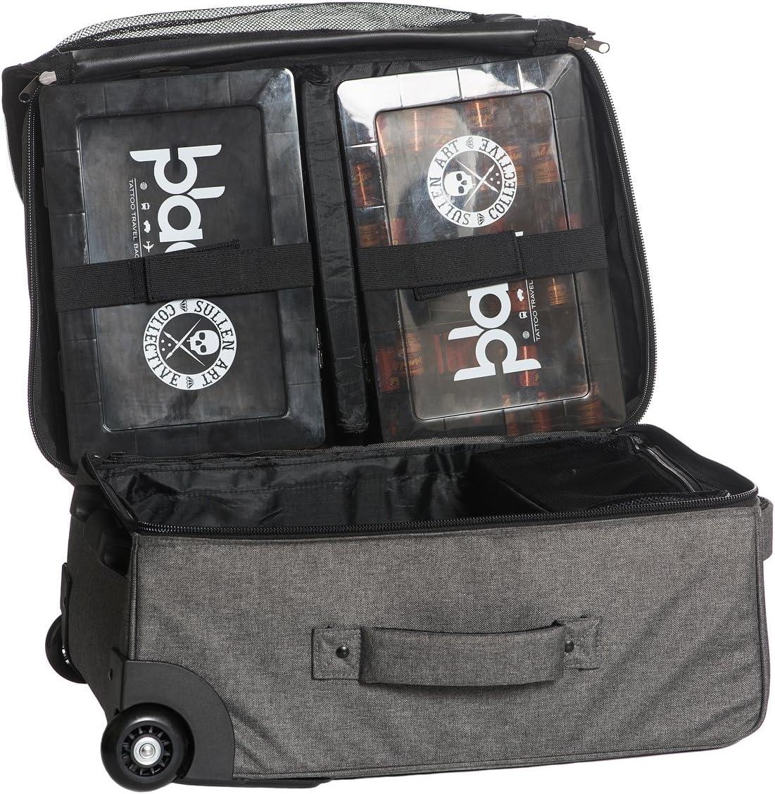 Sullen Blaq Paq Travler Roller Tattoo Travel Bag Gray