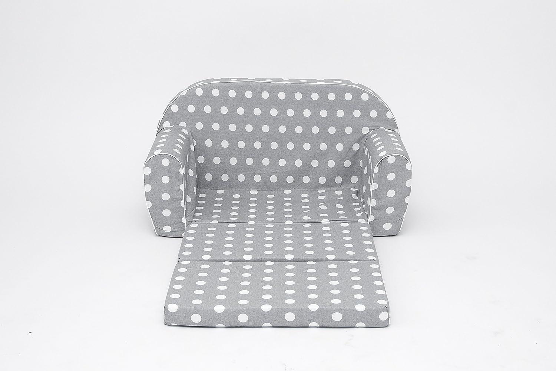 Sofá cama con colchón plegable infantil de gomaespuma