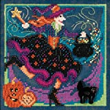 Magic Brew Beaded Counted Cross Stitch Kit MH14-2204 Mill Hill Buttons & Beads 2012 Autumn