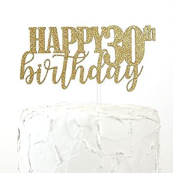 NANASUKO 30th Birthday Cake Topper