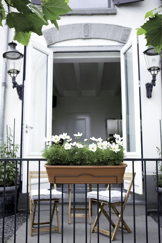 colore grigio Elho balconiera tipo 2//3 taglia M