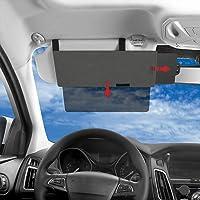 SAILEAD Left Driver Side Sun Visor for Toyota 4Runner 2004-2008 74320-35A91-E1 Beige